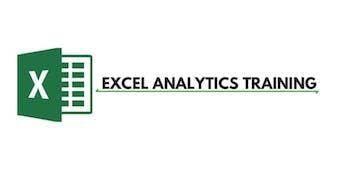 Excel Analytics 3 Days Training in Canberra