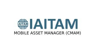 IAITAM Mobile Asset Manager (CMAM) 2 Days Virtual Live Training in Eindhoven
