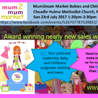 Mum2mum Market Cheadle Hulme Methodist Church