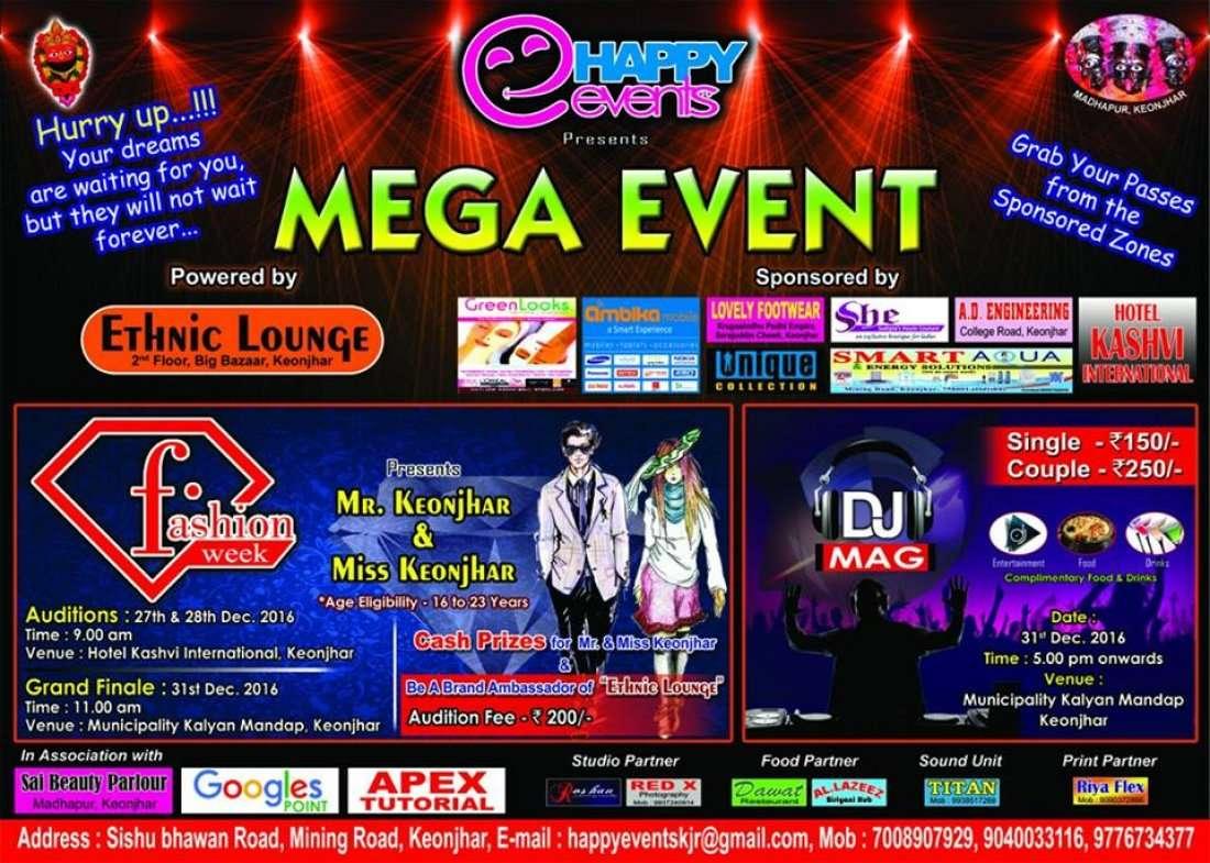 Hotel Kashvi Happy Events Presents Fashion Week Dj Night At At Hotel Kashvi