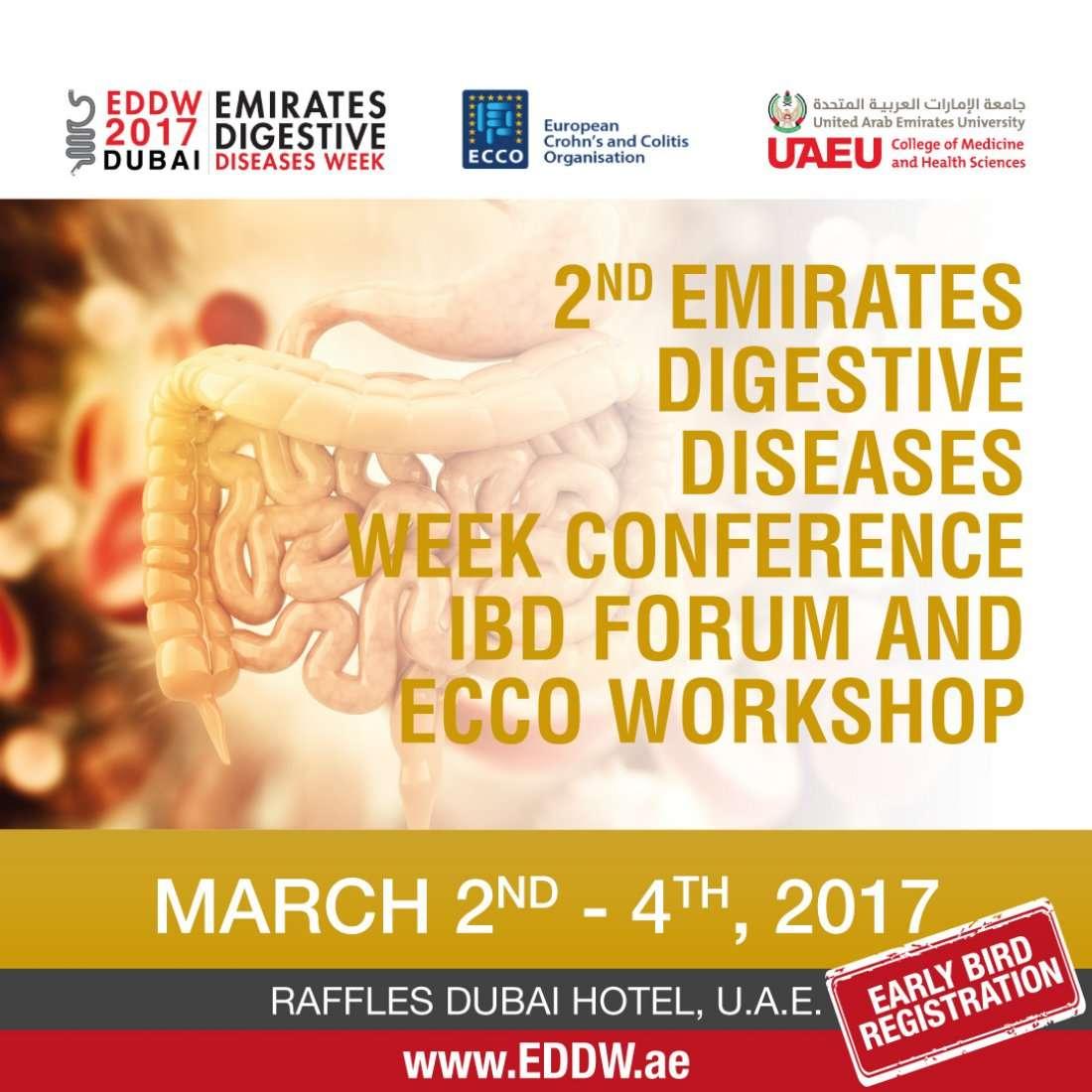 2nd Emirates Digestive Diseases Week (EDDW) Conference, IBD Forum