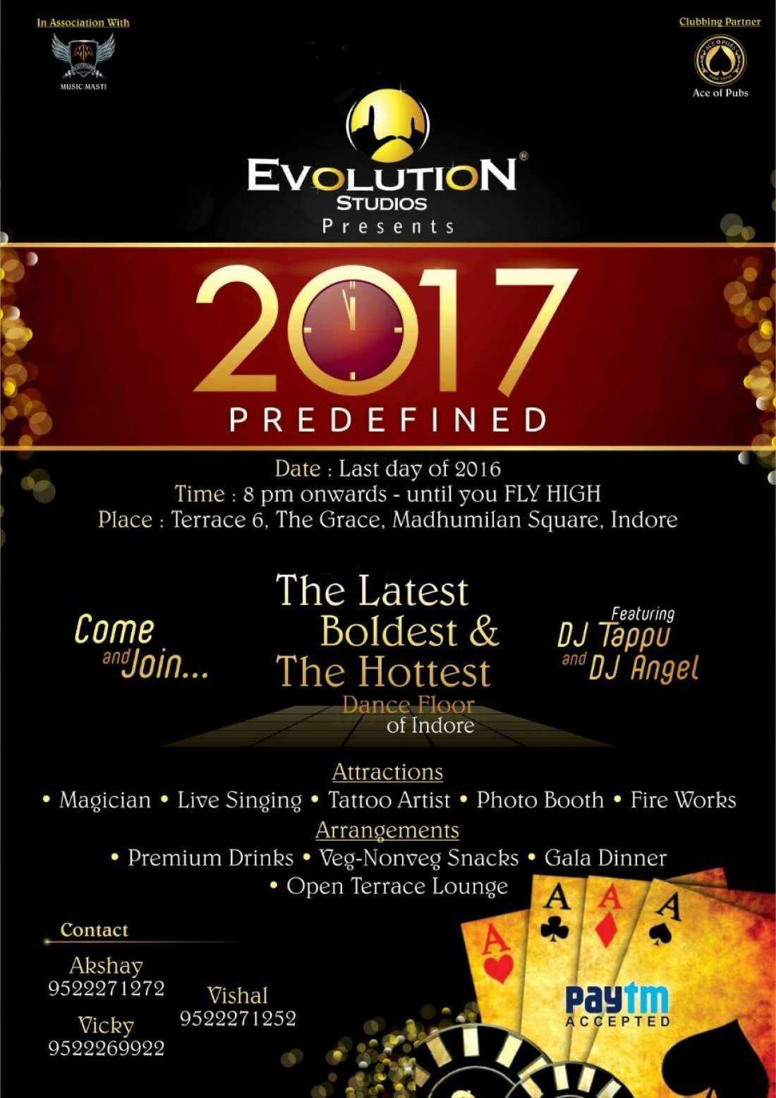 2017 predefined at terrace 6 the grace madhumilan for Terrace 6 indore