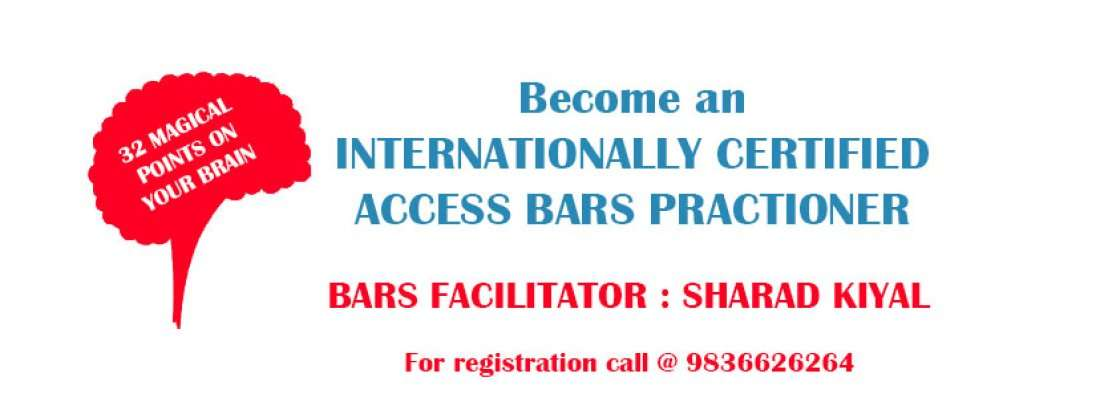Become an Internationally Certified Access Bars Practitioner with Sharad Kiyal