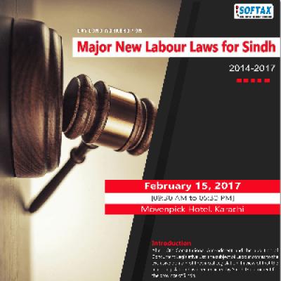 Workshop on &quotMajor New Labour Laws for Sindh&quot