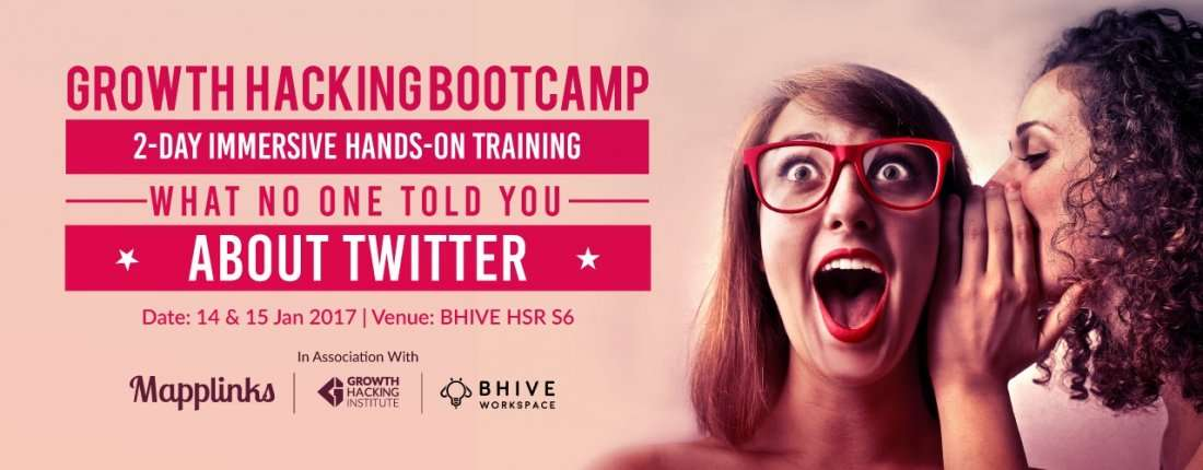 Growth hacking and twitter marketing secrets bootcamp at