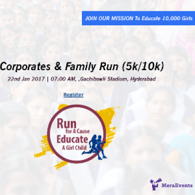 Seva Bharathi - Run for a Cause Educate a Girl Child