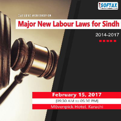 Major New Labour Laws for Sindh 2014-17