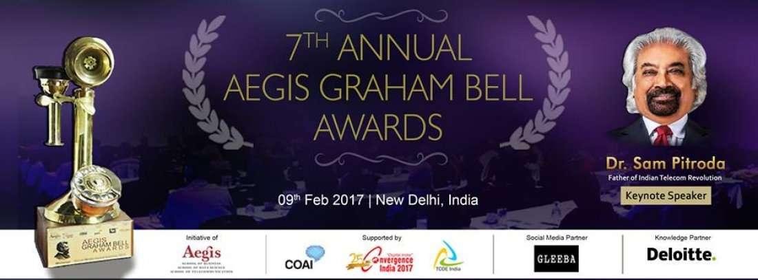 7th Annual Aegis Graham Bell Awards 2016 at NDMC ...