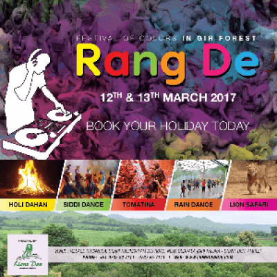 Rang De - Holi trip to Gir Forest