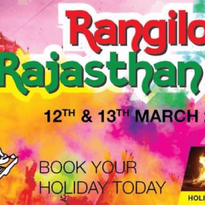 Rangilo Rajasthan - Holi trip to Dungarpur