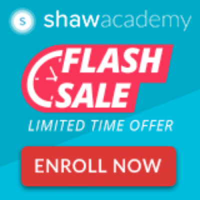 Flash Sale - Fast Track your Career with exciting Skill Development Courses by Shaw Academy.