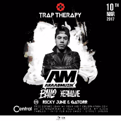 TRAP THERAPY ARAAB MUZIK BAILO &amp XERMANE  CENTRAL (RSVP FOR FREE ADMISSION BEFORE 12)