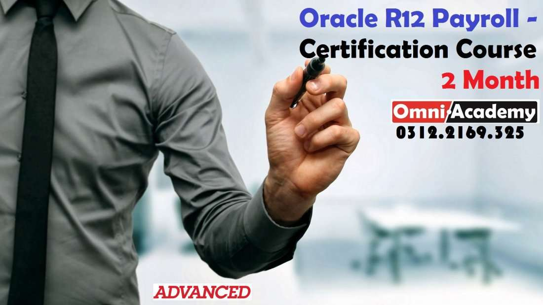 Oracle R12 Payroll Certification Course 2 Months At A 575 Block
