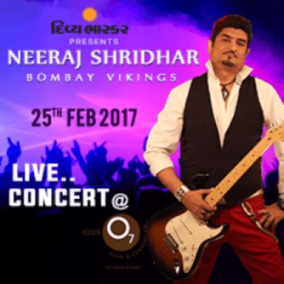 Neeraj Shridhar - Bombay Vikings Concert Live in Ahmedabad