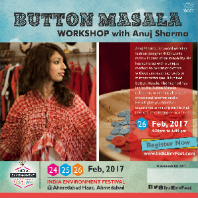 Button Masala Workshop with Anuj Sharma at IEF17