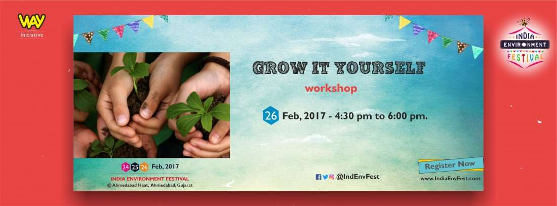 Grow it Yourself Workshop by Gift Green at IEF17