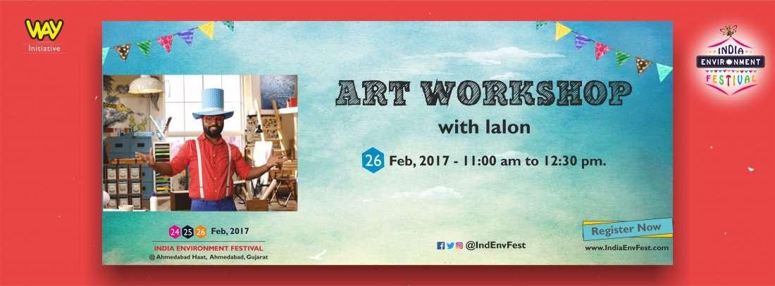 ARTful Masti with LALON at IEF17