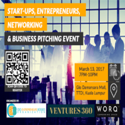 Start-ups Entrepreneur Networking and Business Pitching Event