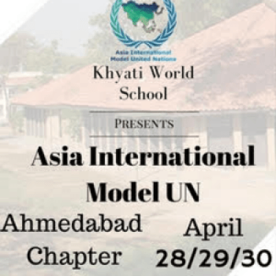 Asia international Model United Nations - Ahmedabad Chapter