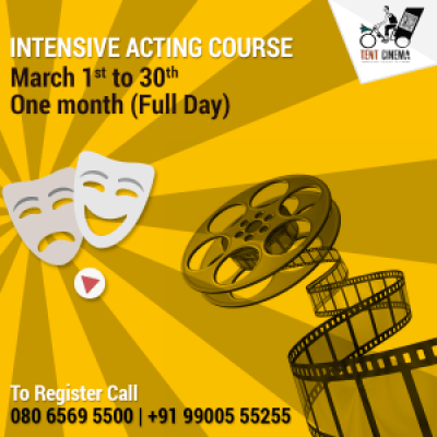 One month Intensive Acting Course
