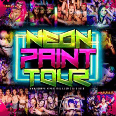 The Neon Paint Party Tour  Belasco 18 w Special Guest DJ