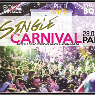 Festa dei single Roma Carnival Party 2017 Chalet nel bosco 28 2 2017