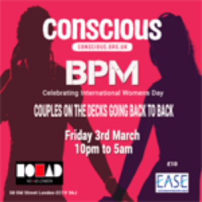 Conscious presents bpm house music at nomad club london for House music bpm