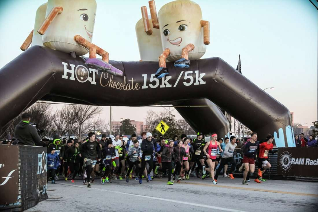 The Sweetest Race In Town! San Diego Hot Chocolate 15K & 5K Road ...