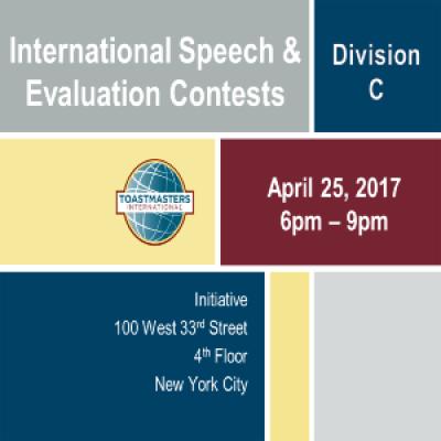 Division C- International Speech &amp Evaluation Contests