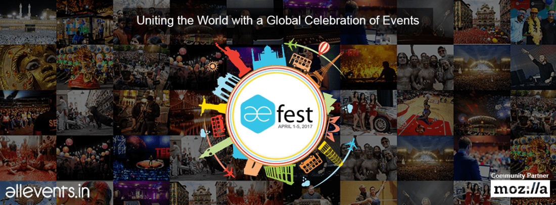 AEFest 2017 - A Global Events Festival
