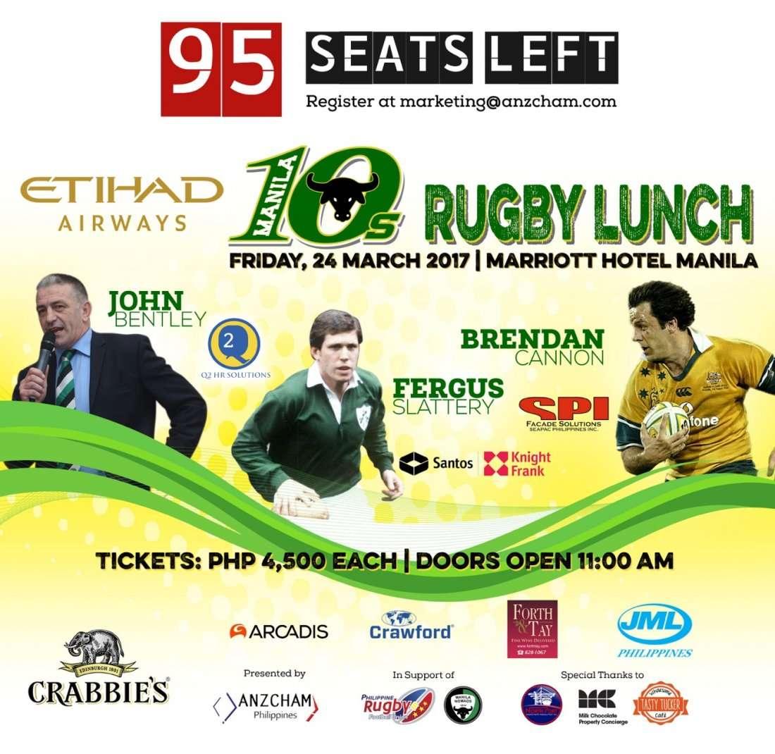 Manila 10s Rugby Lunch