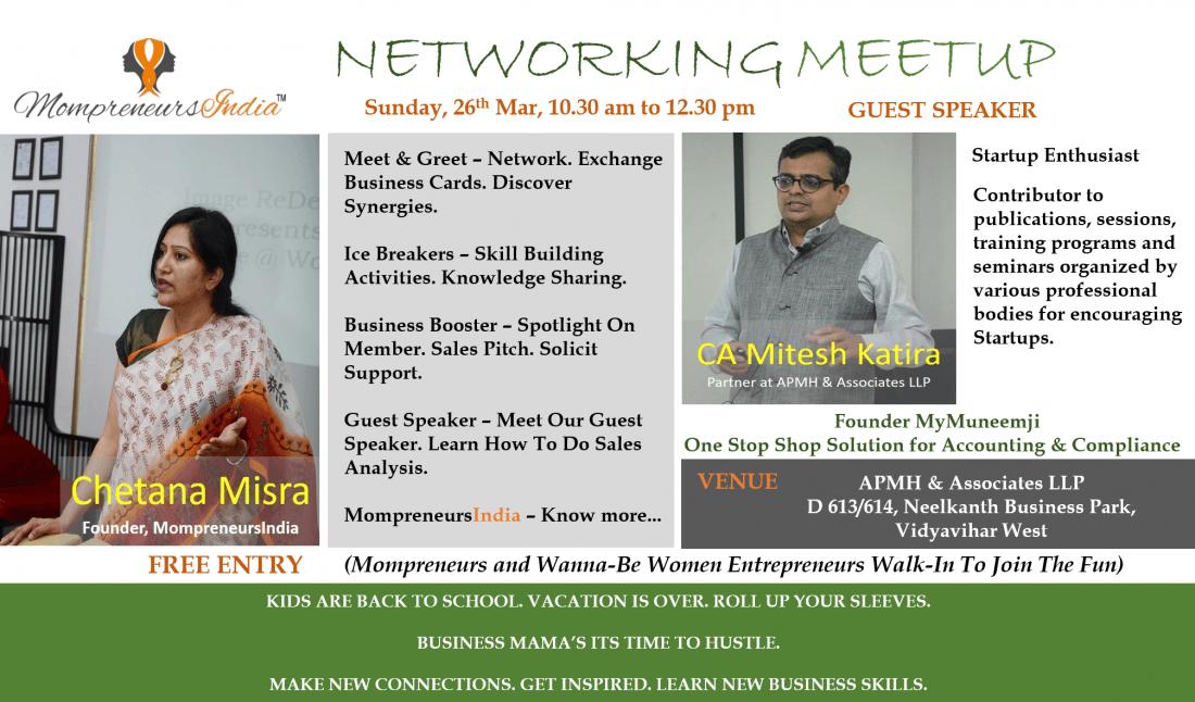 MompreneursIndia March Networking Meet In Mumbai