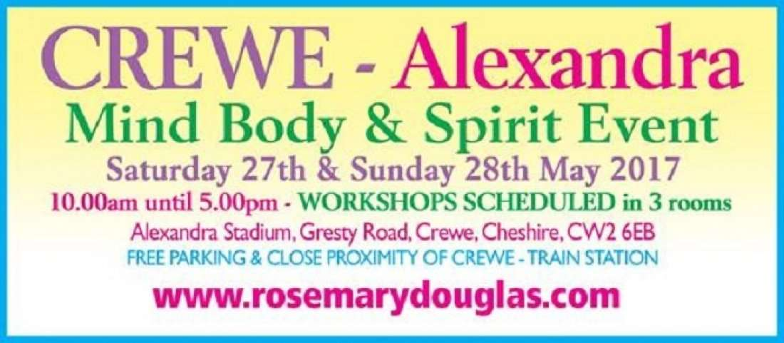 Mind Body Spirit Event Crewe