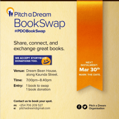 Pitch a Dream BookSwap - March Edition