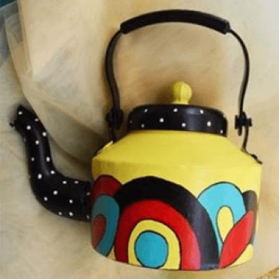 Teapot PaintingZentangle Workshop
