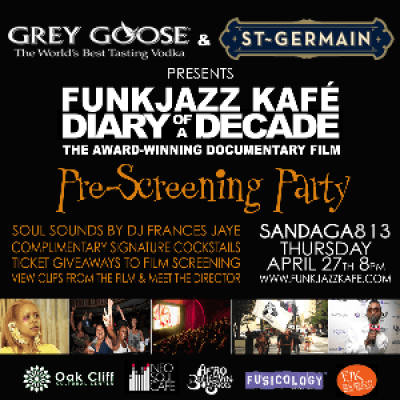 FunkJazz Kaf Diary Of A Decade Dallas Pre-Screening Party