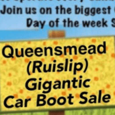 Queensmead Giant Car Boot Sale