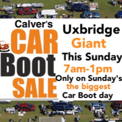 Uxbridge Giant Car Boot Sale