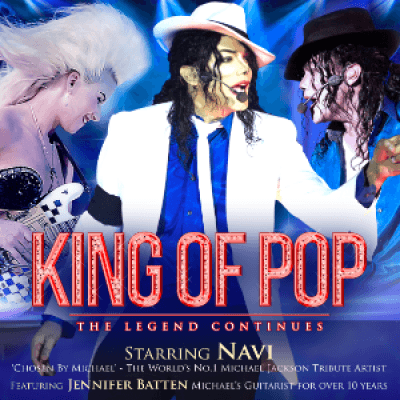 King of Pop - The Legend Continues UK Tour 2017