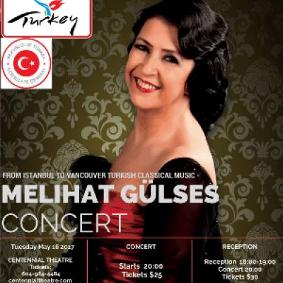 Melihat Gulses in the Concert
