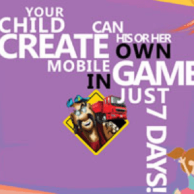 Game Development Workshop for Kids Make your own Game in 7 Days