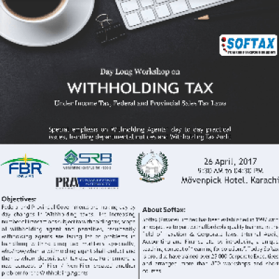 Workshop on &quotWithholding Tax&quot