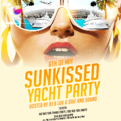 Sunkissed Yacht Party
