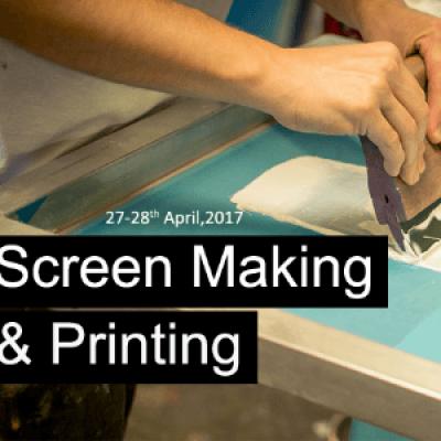 Screen Making &amp Printing - Workshop