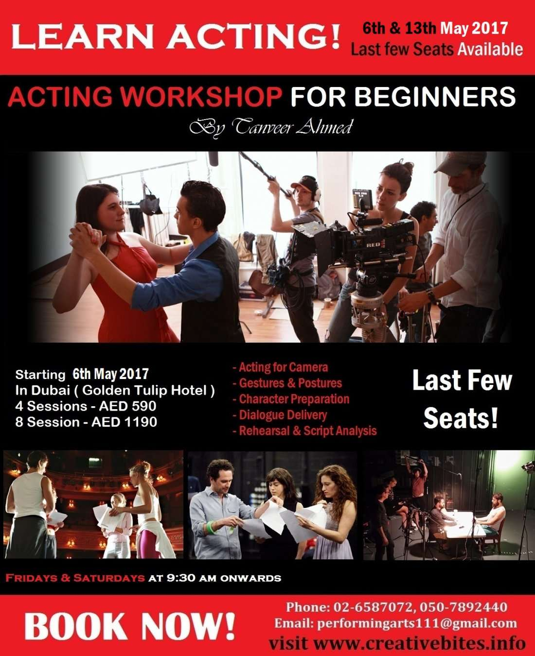 Acting Workshop for Beginners - Dubai
