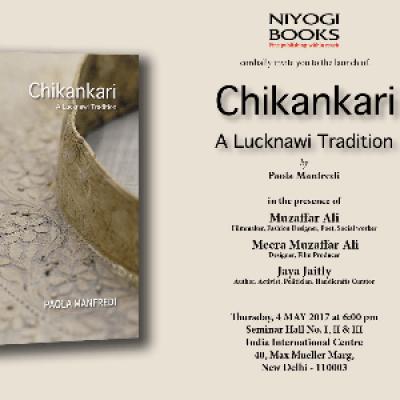Book launch of &quot Chikankari&quot  Niyogi Books