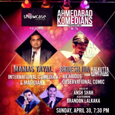 International Comedian &amp Magician Manas Tayal with Brijesh Jha