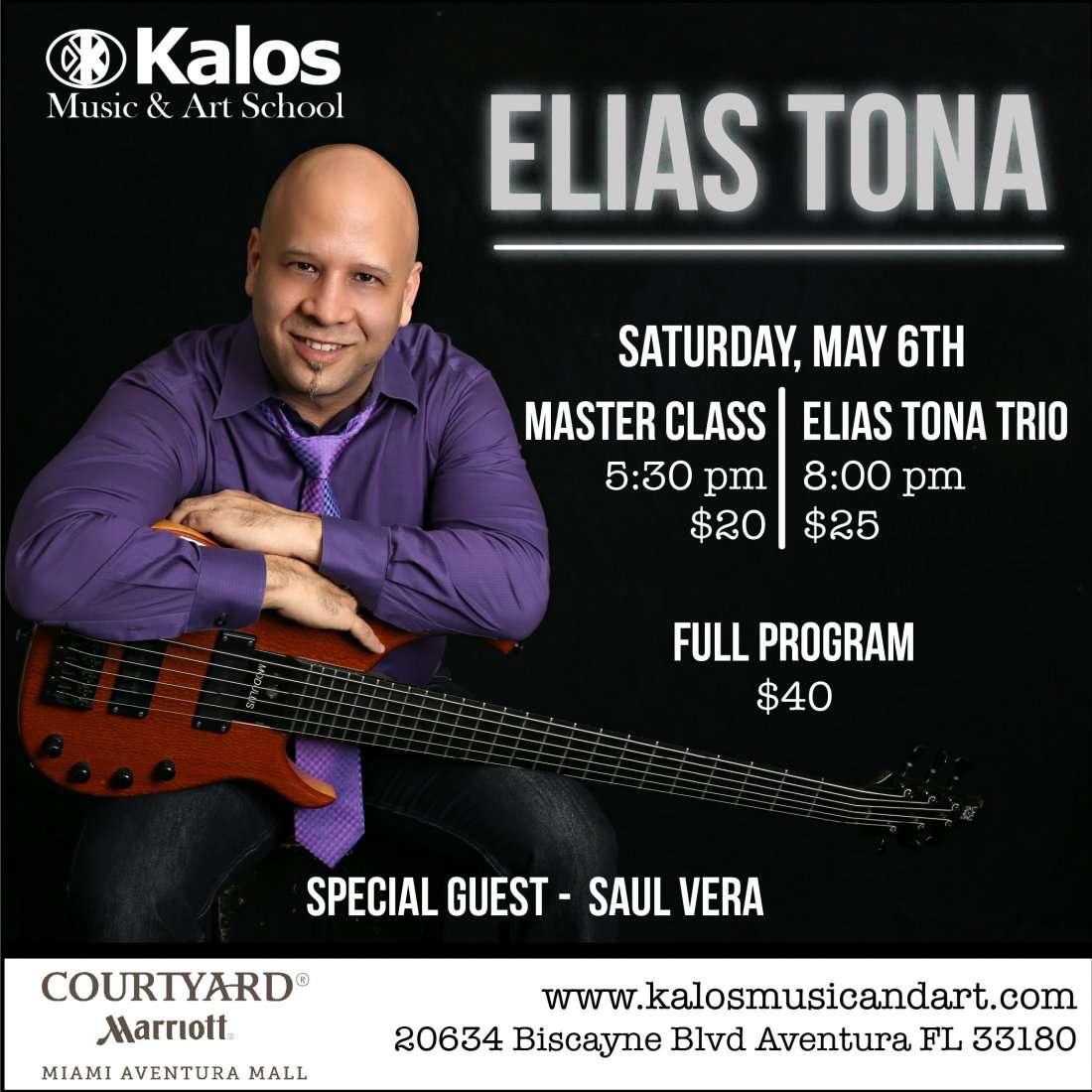 Elias Tona. Master Class & Concert