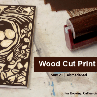Wood Cut Print - Workshop