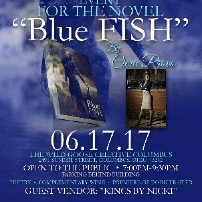Book Signing and Novel Release for the Novel Blue FISH